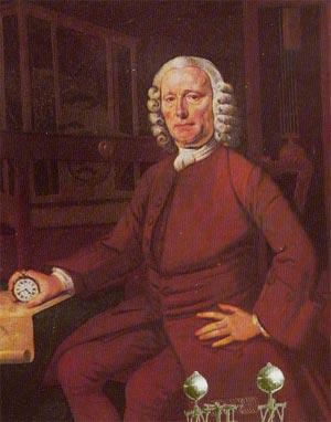 John Harrison English carpenter and clockmaker who invented the marine chronometer. Photo Credit: © Public Domain via Wikimedia Commons.