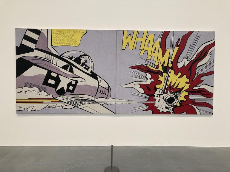 Roy Lichtenstein Whaam! (1963). Photo Credit: © Richard Jones.
