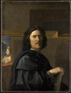 Self-portrait by Nicolas Poussin, 1650. Photo Credit: © Public Domain via Wikimedia Commons.